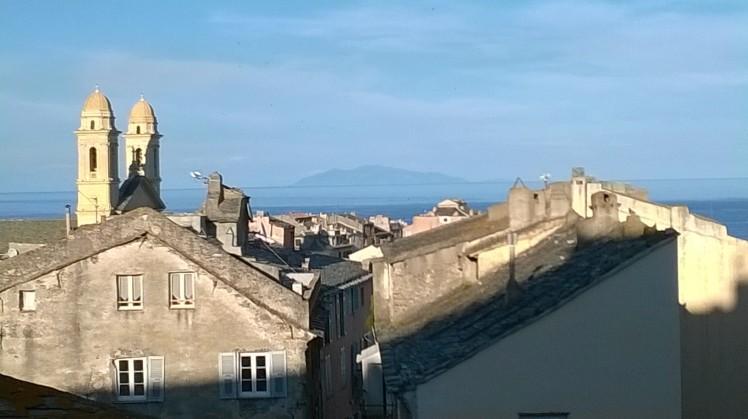 Bastia et l'ile d'Elbe